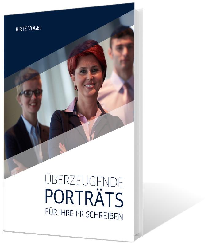 Porträts für die PR schreiben –ab Juni hier erhältlich