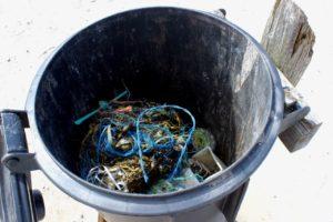 Müll am Nordseestrand (Foto: Birte Vogel)